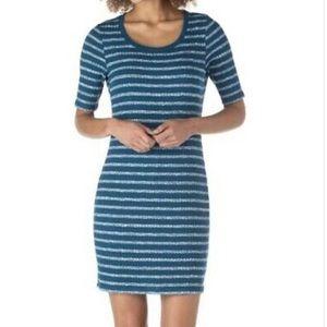 Kensie NWT Women's striped Stretch Shirt Dress M